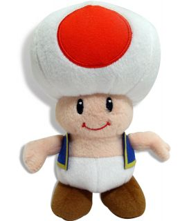 Super Mario Bros. Toad Plush