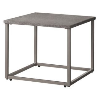 Threshold Metal End Table Patio Furniture, Heatherstone Collection