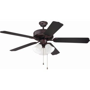 Ellington Fans ELF E205OB Pro 205 52 Ceiling Fan Motor only with Integrated Lig