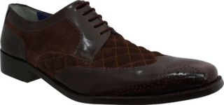 Mens Giorgio Brutini 21080   Brown Buff Leather/Suede Wing Tips