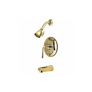 Elements of Design EB46320ZL Syracuse Single Handle Tub & Shower Faucet