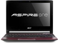 Acer Aspire AO533 23096 10.1 Inch Netbook (Glossy Red)   OPEN BOX