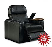 Lane Home Theater Seating   Matinee Model 103 in Black Bonded