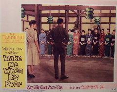 Wake Me When Its Over (Original Lobby Card   #4) Movie Poster