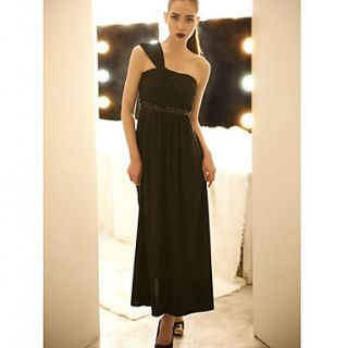 Womens Sexy One Shoulder Long Dress