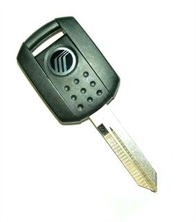 2008 Mercury Mariner transponder key blank