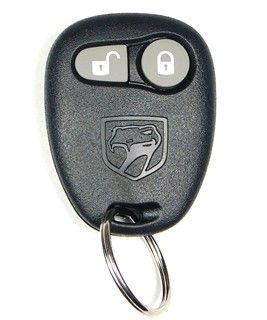 1999 Dodge Viper Keyless Entry Remote