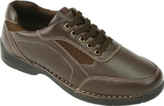 Mens Deer Stags Verge   Dark Brown Sneakers