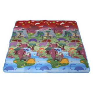 Baby Play Mat   City/Dinosaur