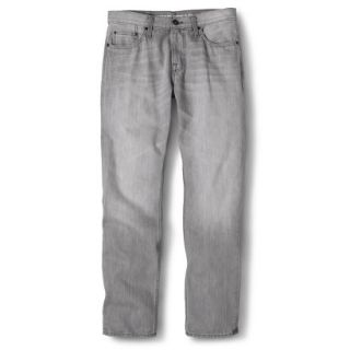 Mossimo Supply Co. Mens Slim Straight Fit Jeans   Gray 36X30