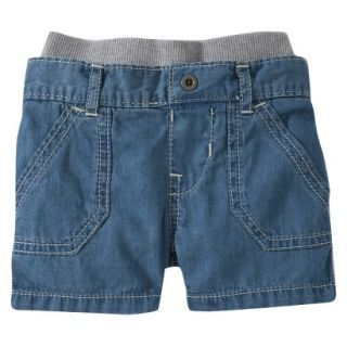 Burts Bees Baby Toddler Boys Jean Short   Chambray 3T