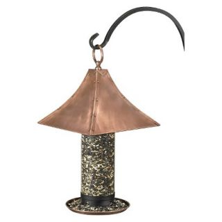 Good Directions Palazzo Large Bird Feeder   Copper Finish