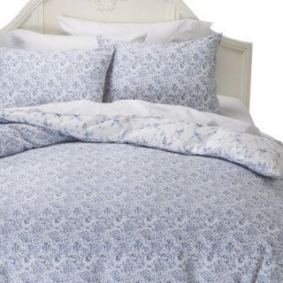 Simply Shabby Chic Batik Duvet Cover Cover Set   Indigo (King)