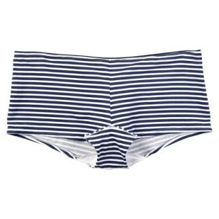 JKY By Jockey Womens Cotton Stretch Boyshort   Navy Stripe 8