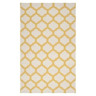 Fretwork Area Rug   Gold (5x8)
