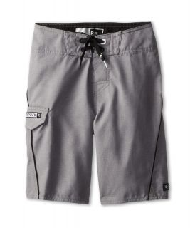 Rip Curl Kids Overthrown Heather Boardshort Boys Swimwear (Gray)