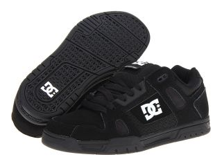 DC Stag Mens Skate Shoes (Black)
