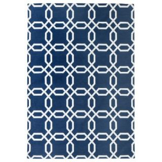 Room 365 Geometric Area Rug   Blue (7x10)