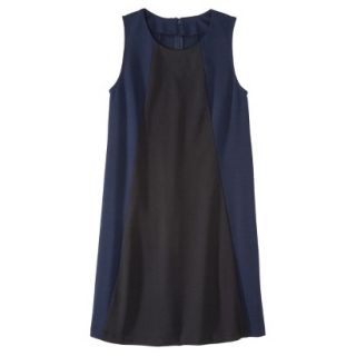 Mossimo Womens Colorblock Shift Dress   Xavier Navy/Black S