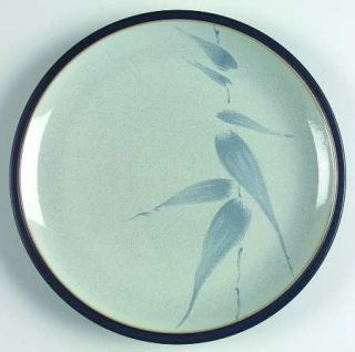 Denby Langley Spirit Blue Salad Plate, Fine China Dinnerware   Blue Brush Stroke