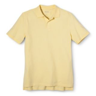 Mens Classic Fit Polo Shirt Popcorn Yellow XXL