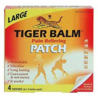 Tiger Balm Pain Relieving Patch   Large