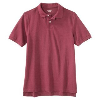 Mens Classic Fit Polo Shirt Rose Pink Red Essence S