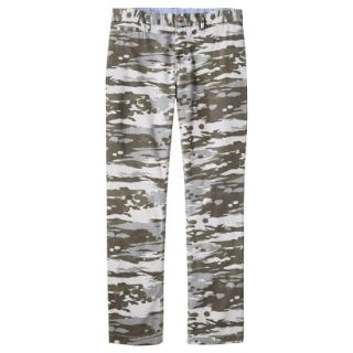 Mossimo Supply Co. Mens Slim Fit Chino Pants   Mesa Gray Camouflage 34x32