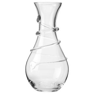Carafe Glass Spiral Vase   12 by Torre & Tagus