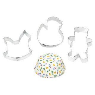 Fox Run Four Piece Baby Baking Set