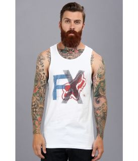 Fox Quaking Premium Tank Mens Sleeveless (White)
