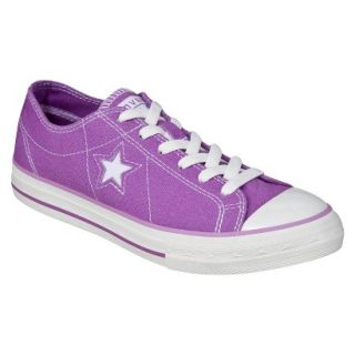Womens Converse One Star Orchid Oxford   Purple 6.0