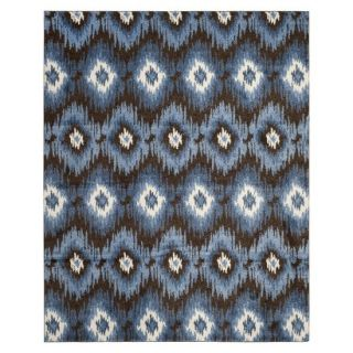 Safavieh Samira Area Rug   Dark Brown/Blue (8x10)