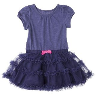 Cherokee Infant Toddler Girls Tutu Dress   Nightfall Blue 5T