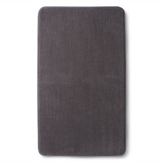 Mohawk Home Memory Foam Bath Rug   Elephant Gray (20x34)