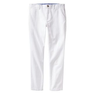Mossimo Supply Co. Mens Vintage Slim Chino Pants   Fresh White 28X30
