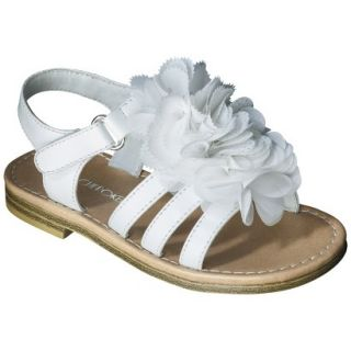 Toddler Girls Cherokee Joslyn Sandal   White 7