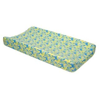 Changing Pad Cover BLUE OH, THE PLACES YOULL GO