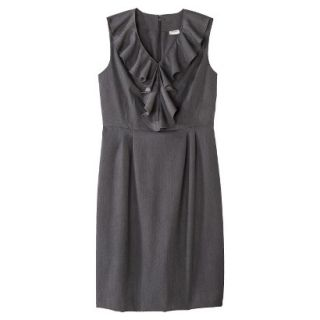 Merona Petites Sleeveless Sheath Dress   Gray 2P