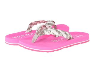 Sperry Top Sider Kids Topsail Girls Shoes (Silver)