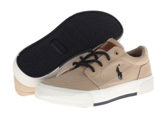 Polo Ralph Lauren Kids Faxon II Boys Shoes (Khaki)
