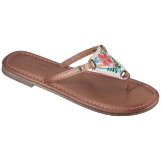 Girls Cherokee Freda Flip Flop Sandals   Brown 13