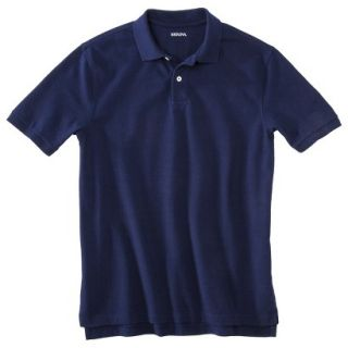 Mens Classic Fit Polo Shirt Navy Blue Vyg XXL