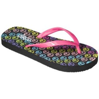 Girls Circo Hester Flip Flop Sandals   Pink/Black L
