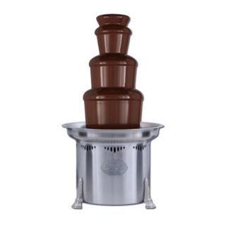 Sephra 23 Inch Stainless Steel Commercial Chocolate Fountain Multicolor   10230