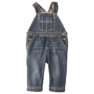 Genuine Kids from OshKosh Newborn Boys Denim Overall   Blue 0 3 M