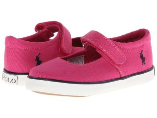 Polo Ralph Lauren Kids Sandy MJ Girls Shoes (Pink)