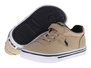 Polo Ralph Lauren Kids Hanford EZ Boys Shoes (Khaki)