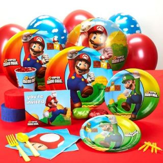 Super Mario Brothers Standard Party Kit for 16