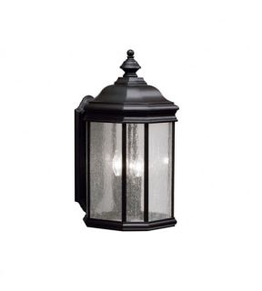 Kirkwood 3 Light Outdoor Wall Lights in Black (Painted) 9030BK